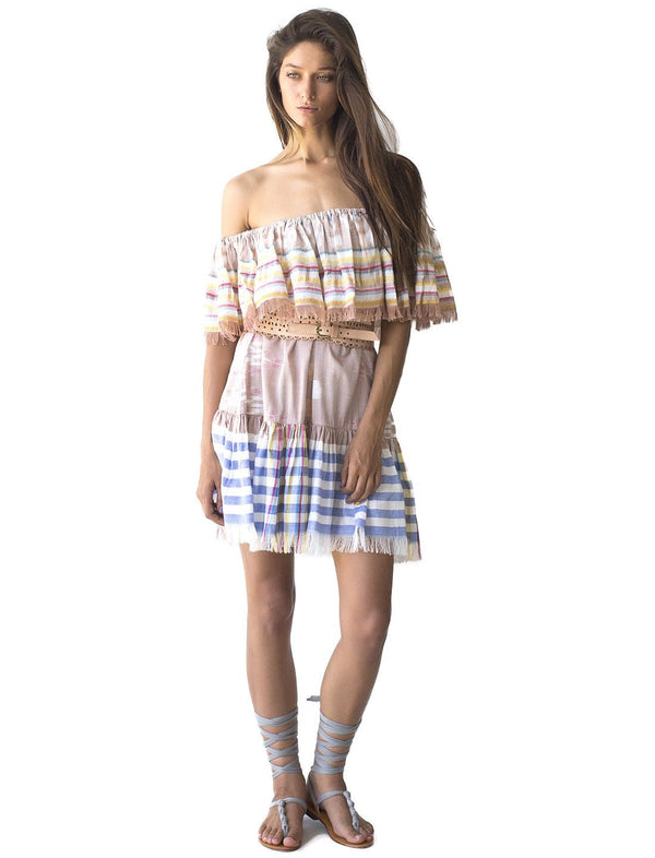 RITA SHORT IKAT DRESS - Erika Peña