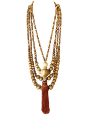 Sans Long Necklace with Gilligan Necklace - Erika Peña