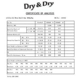 "10 gram X 100 PK ""Dry & Dry""Silica Gel Desiccant & 10 Humidity Indicator Cards"