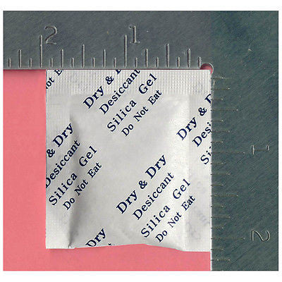 2g X 6,000 EA SILICA GEL PACKETS DESICCANT (FDA Compliant)- DRYOUT MOISTURE ABSORBER IN BULK