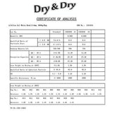 "500 Gram [120 Packets]  ""Dry & Dry"" Premium Silica Gel Desiccant Packets - Rechargeable Fabric"
