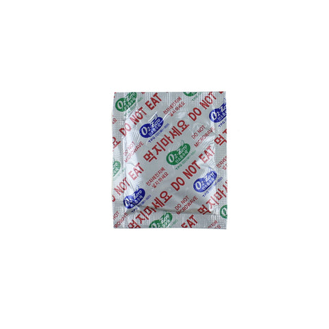 (2500 Packs) 400 CC Premium Oxygen Absorbers(50 Bag of 50 Packets) - ISO 9001 Certified Facility Manufactured.