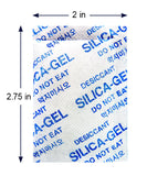 "5 Gram x 55 PK ""Dry & Dry"" Silica Gel Desiccant Packets - Rechargeable Fabric"