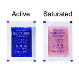 10 Gram Blue Indicating Clear Plastic(PET) Silica Gel Packets
