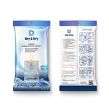 "[35 pack] [Net 7 oz/Pack]  ""Dry & Dry"" Premium Hanging Moisture Absorber to Control Excess Moisture for Basements, Bathrooms, Laundry Rooms, and Enclosed Spaces"