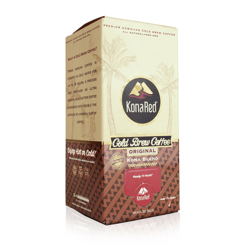 KonaRed® Original Cold Brew Coffee | 3L Bag in Box