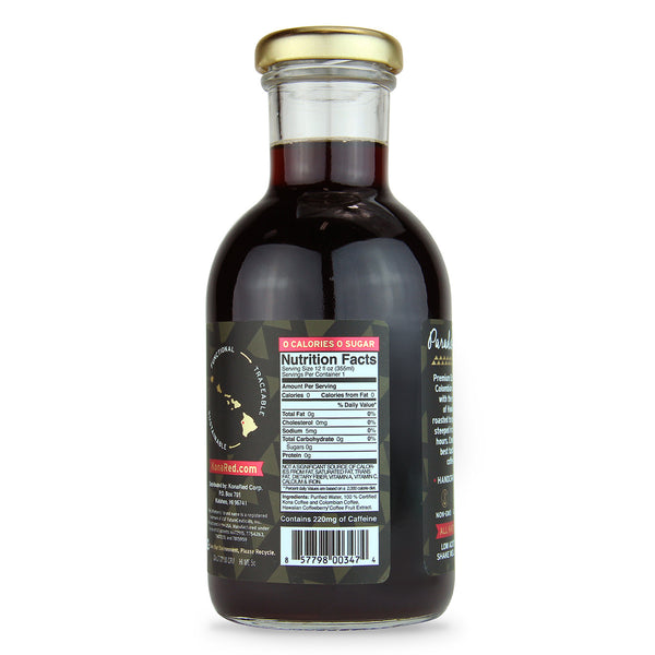 KonaRed® Espresso Cold Brew Coffee Case(6/12-12oz Bottles)