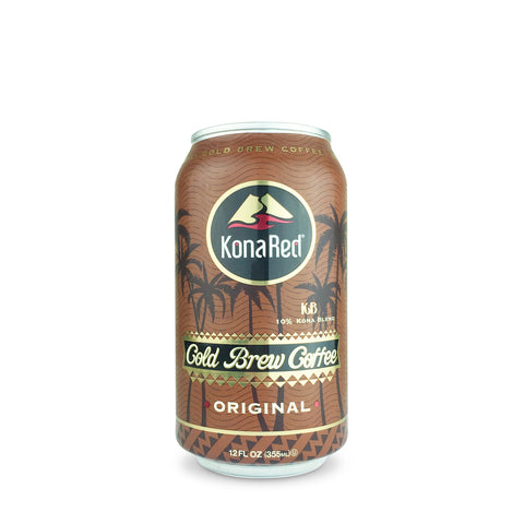 KonaRed® Original Cold Brew Coffee (12 Pack - 12oz Cans)