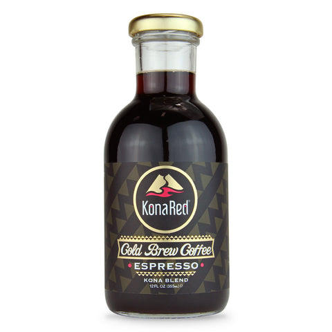 KonaRed Cold Brew Coffee Espresso