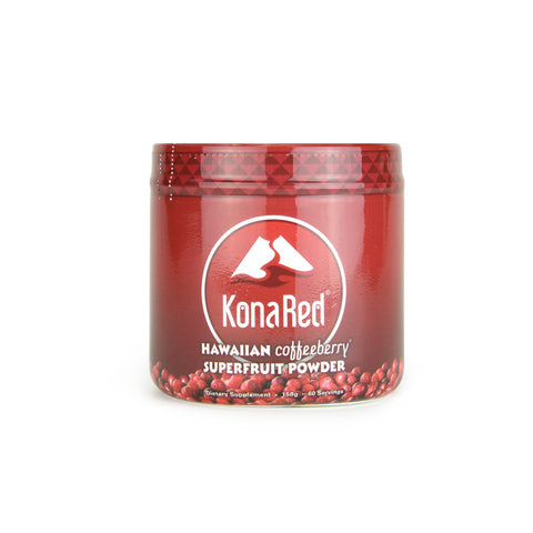 KonaRed - Hawaiian Coffeeberry Superfruit Powder, (60 servings in Tub) - KonaRed.com