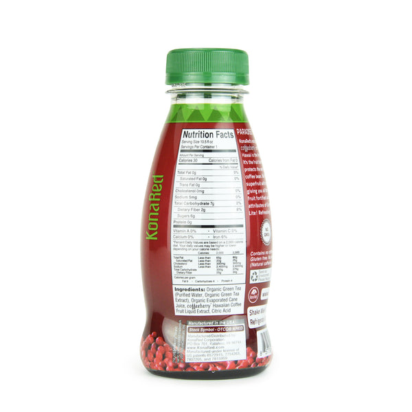 KonaRed® Organic Green Tea Case(12-10.5oz Bottle) - KonaRed.com - 2