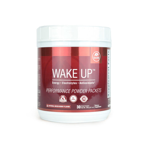 KonaRed® Wake Up Performance Powder Packets (1 Tub w/ 30 Packets) - KonaRed.com