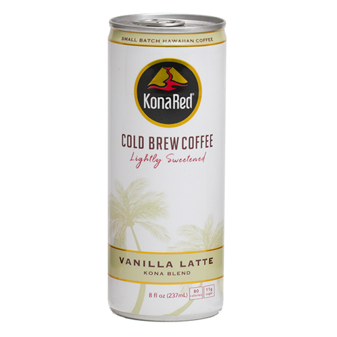 8oz Vanilla Latte - KonaRed.com
