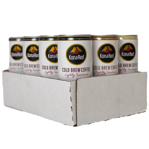 Cold Brew Coffee Mixed Case (8oz Cans) - KonaRed.com