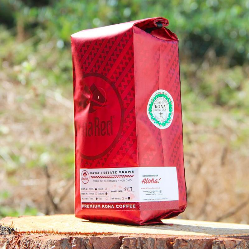 KonaRed Premium Kona Coffee