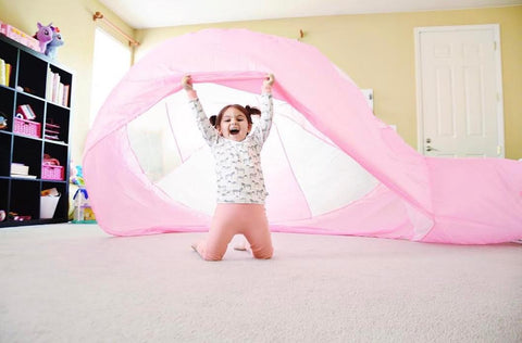 The Toy Insider | Hottest Toy of Sumemr | Air Fort | Kids Fort | Coolest Toy | Kids Toy | Build a Fort | Fort Magic | Summer Fun | Indoor Fun | Pink | Gift | Kids