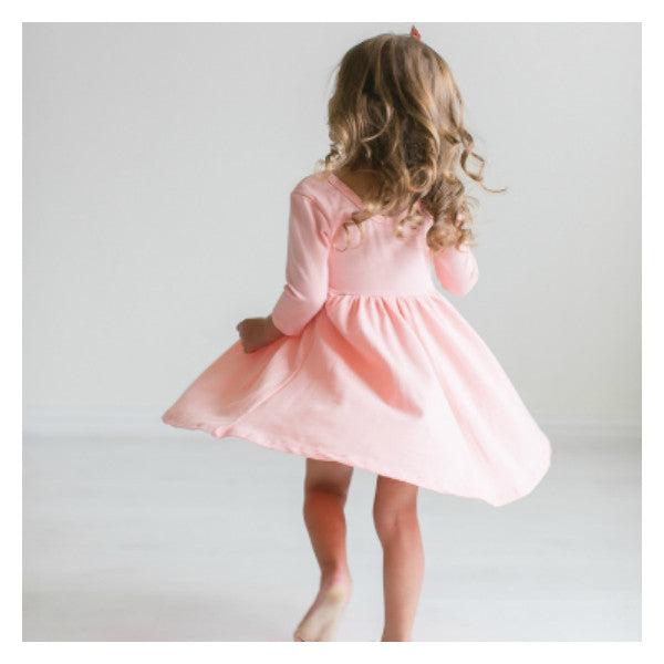 Gray Fog Twirl Dress