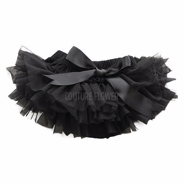 Black Ruffle Tutu Bloomer