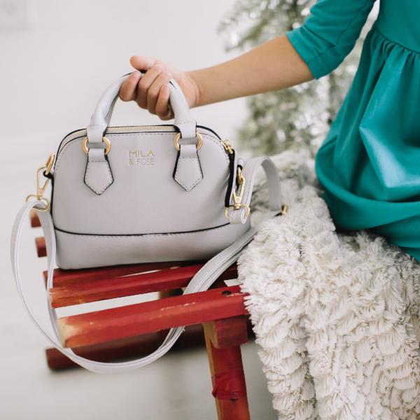 Chloe Purse - Ice Queen Gray