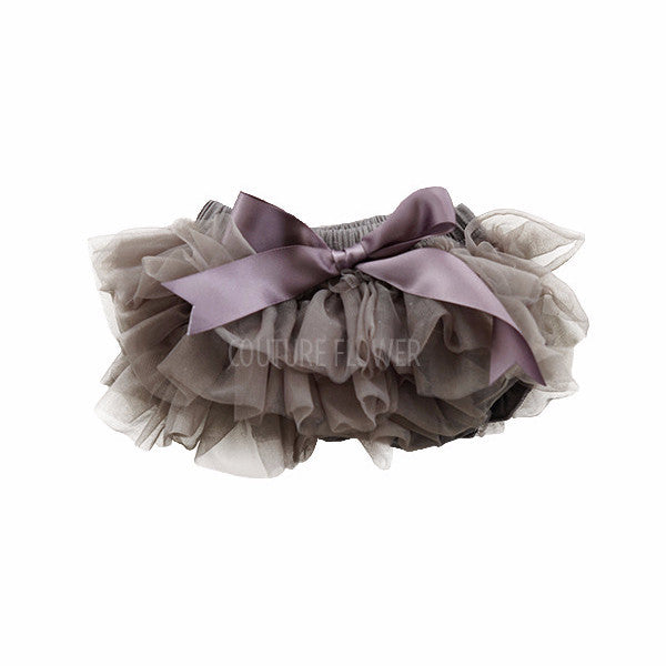 Charcoal Ruffle Tutu Bloomer
