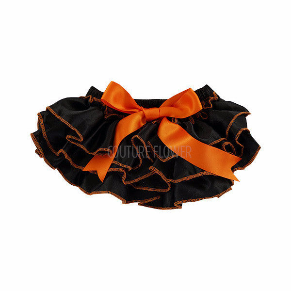 Halloween Satin Ruffle Tutu Bloomer