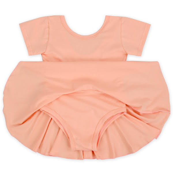 Peach Twirl Leotard