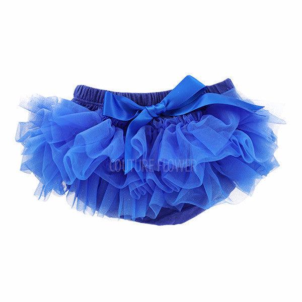 Royal Blue Ruffle Tutu Bloomer