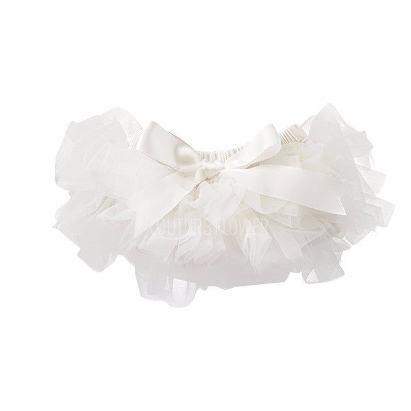 Off White Ruffle Tutu Bloomer