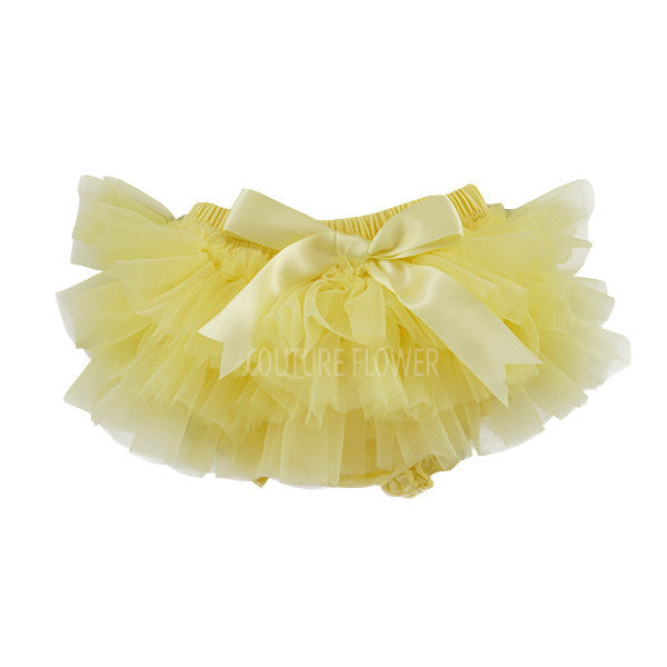 Yellow Ruffle Tutu Bloomer