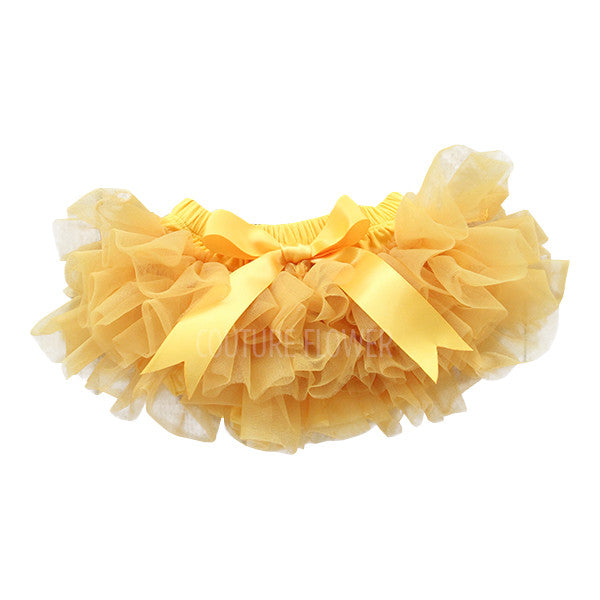 Golden Ruffle Tutu Bloomer