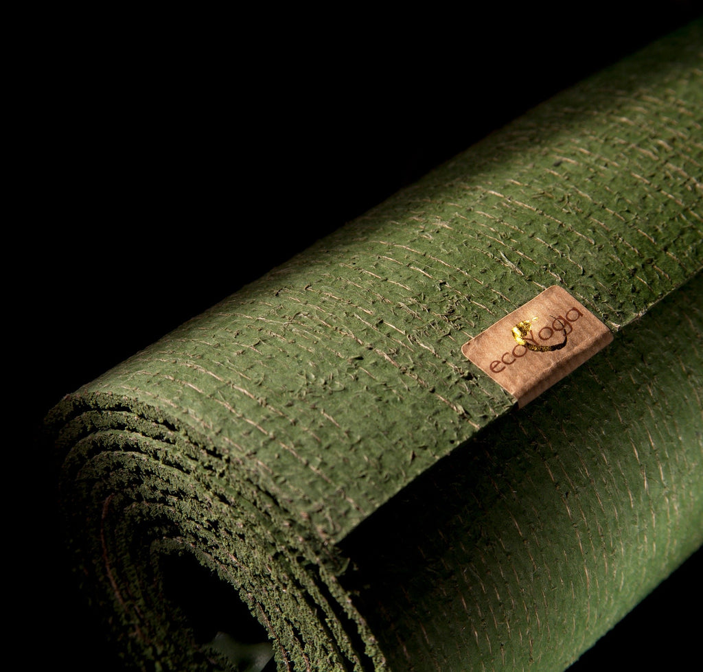 The Original Eco Yoga Mat, 100% natural, best grip - ecoYoga Canada