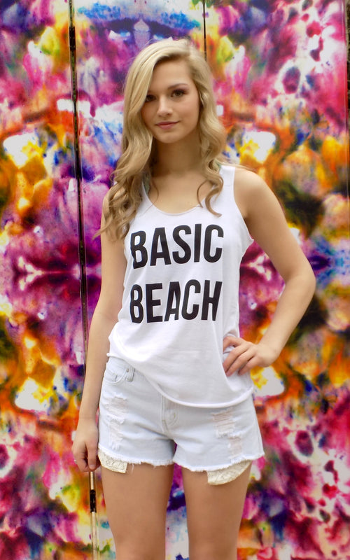 Basic Beach Tank - Dawn and Rae Boutique