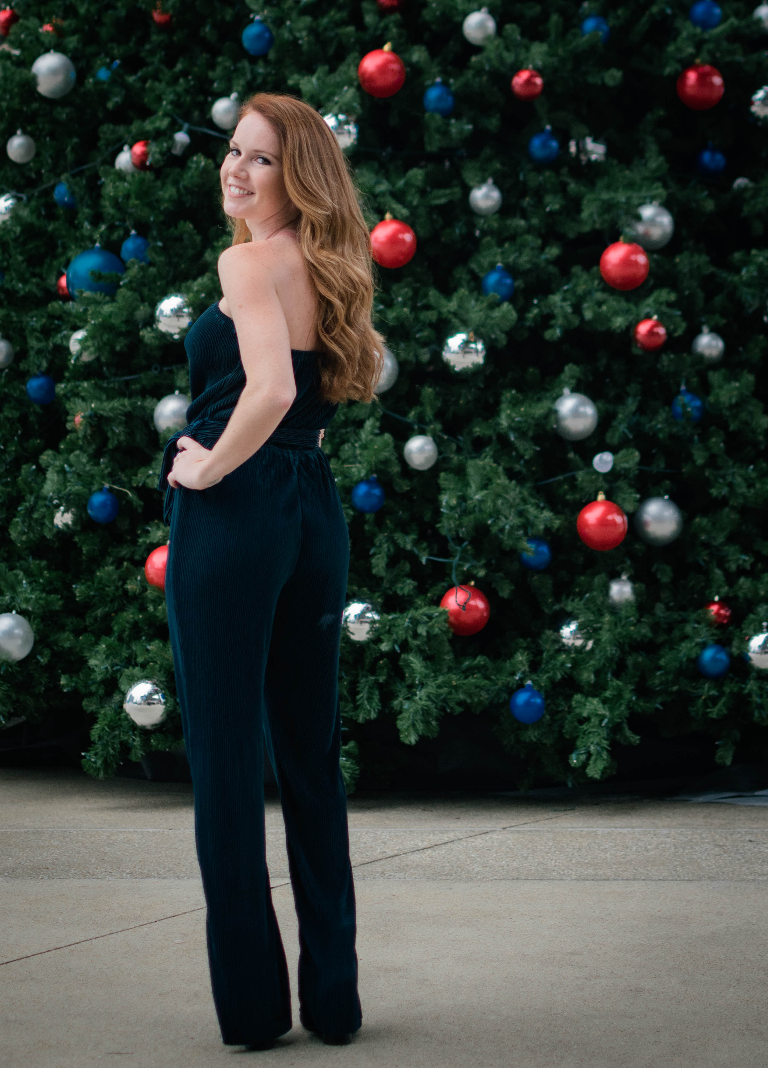 Dark Green Daisy Jumpsuit - Dawn and Rae Boutique