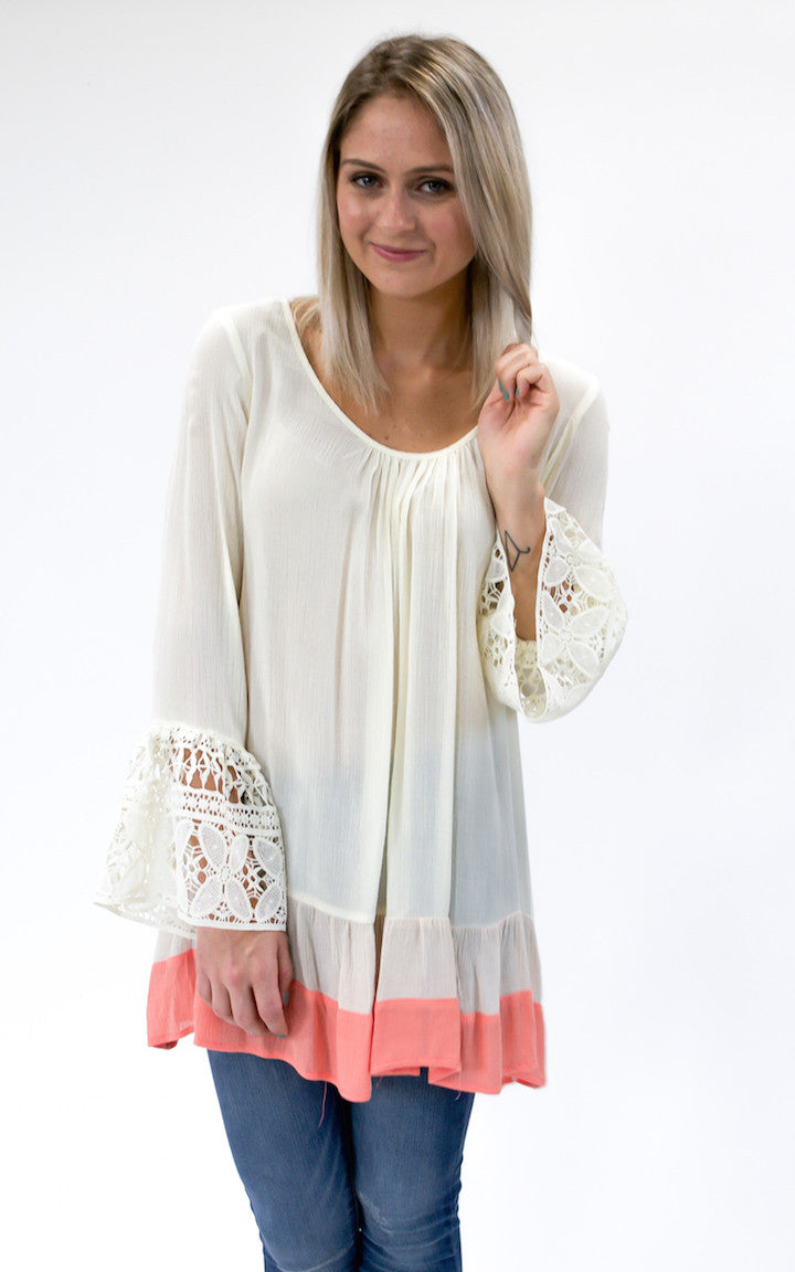 Barefoot Bell Sleeve Top - Dawn and Rae Boutique