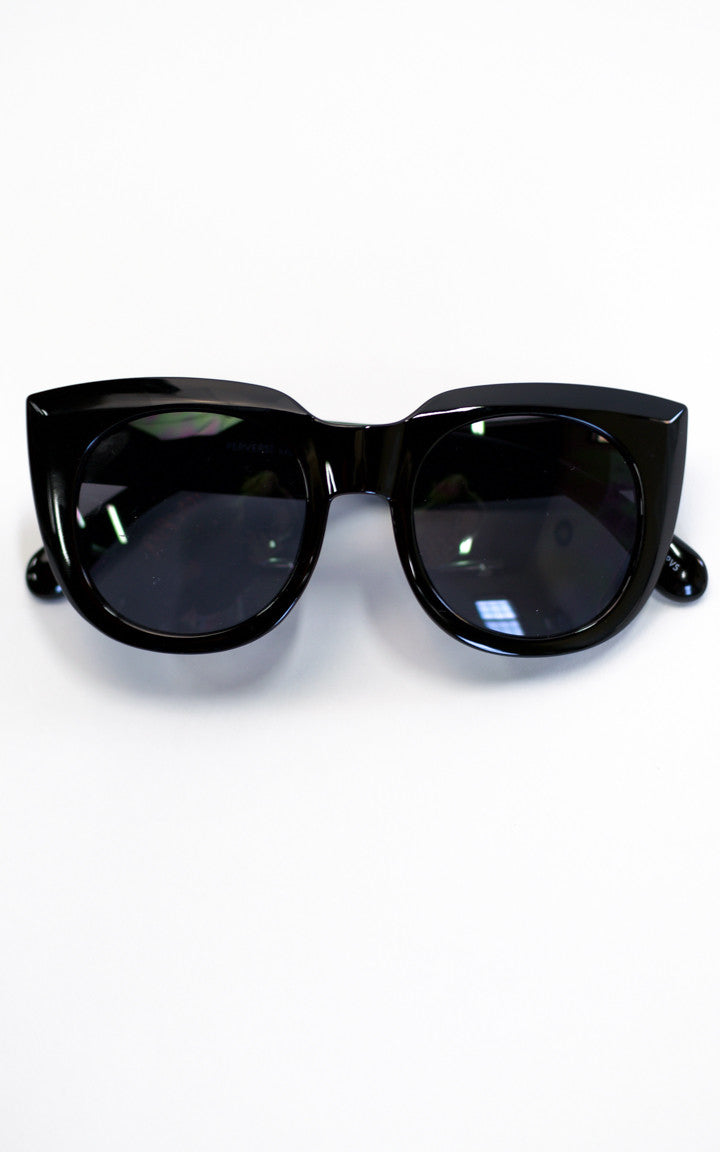 Alpha Retro Round Sunglasses - Dawn and Rae Boutique