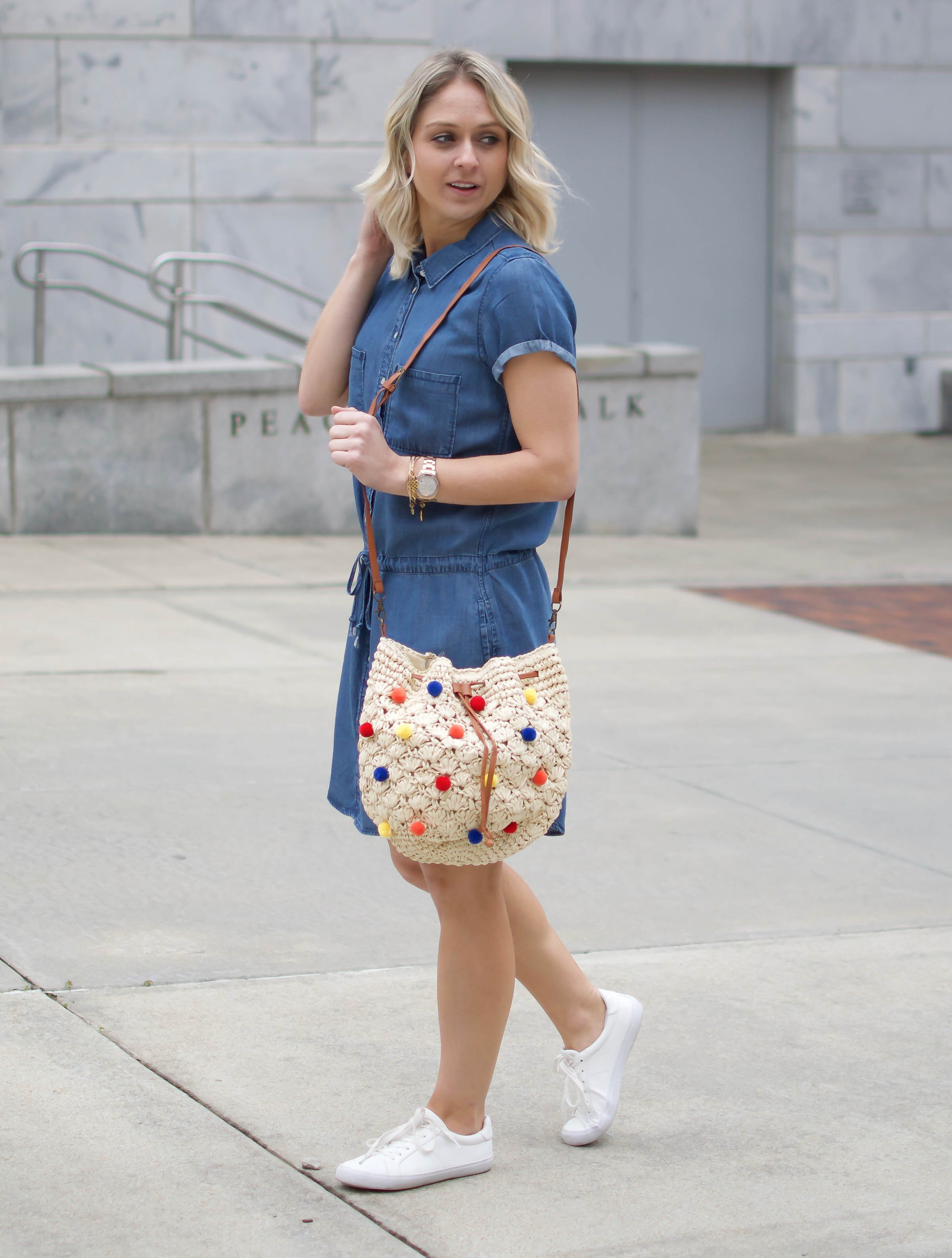 PomPom Embellished Straw Bag - Dawn and Rae Boutique