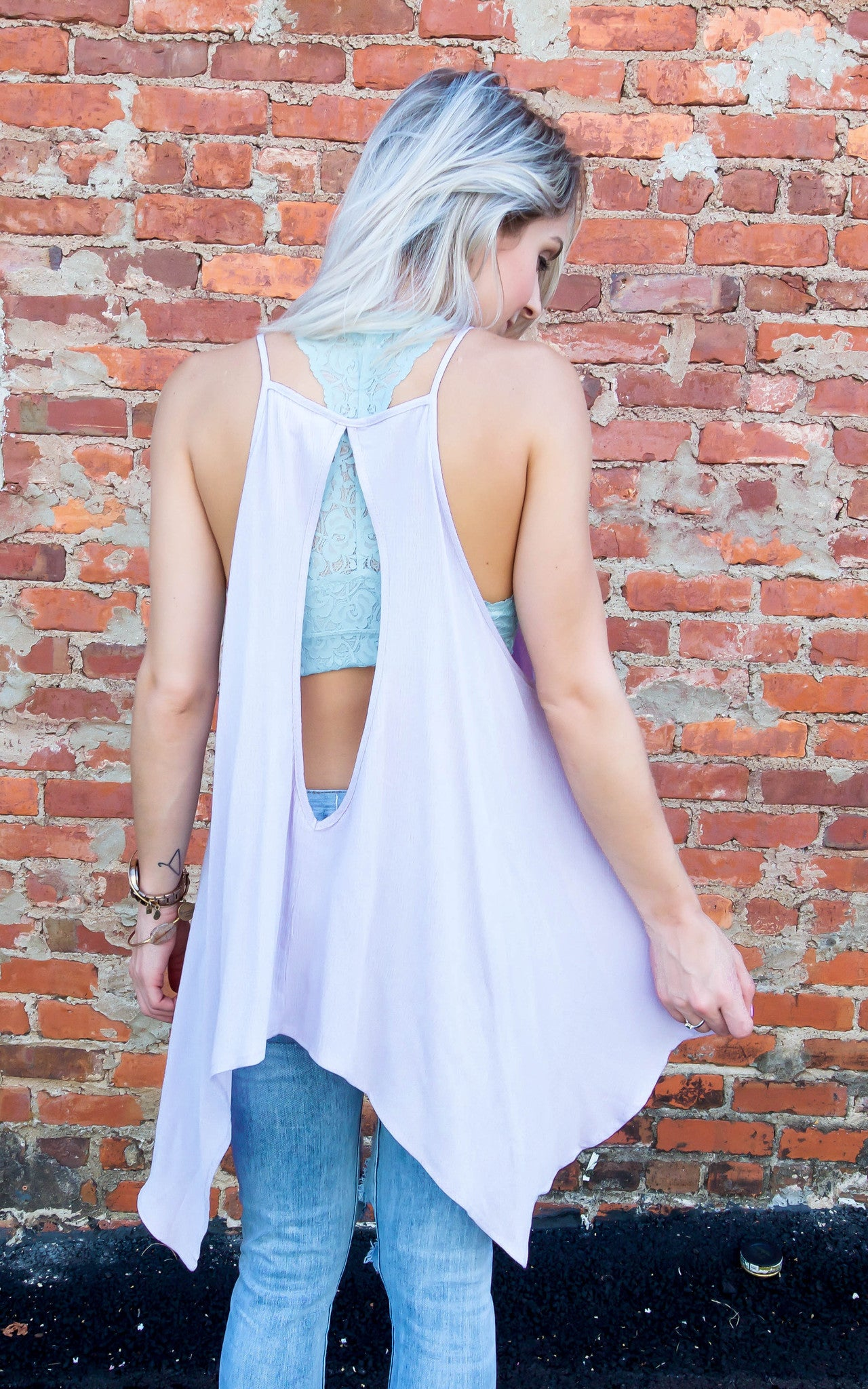 Sea Breeze Lace Top - Dawn and Rae Boutique