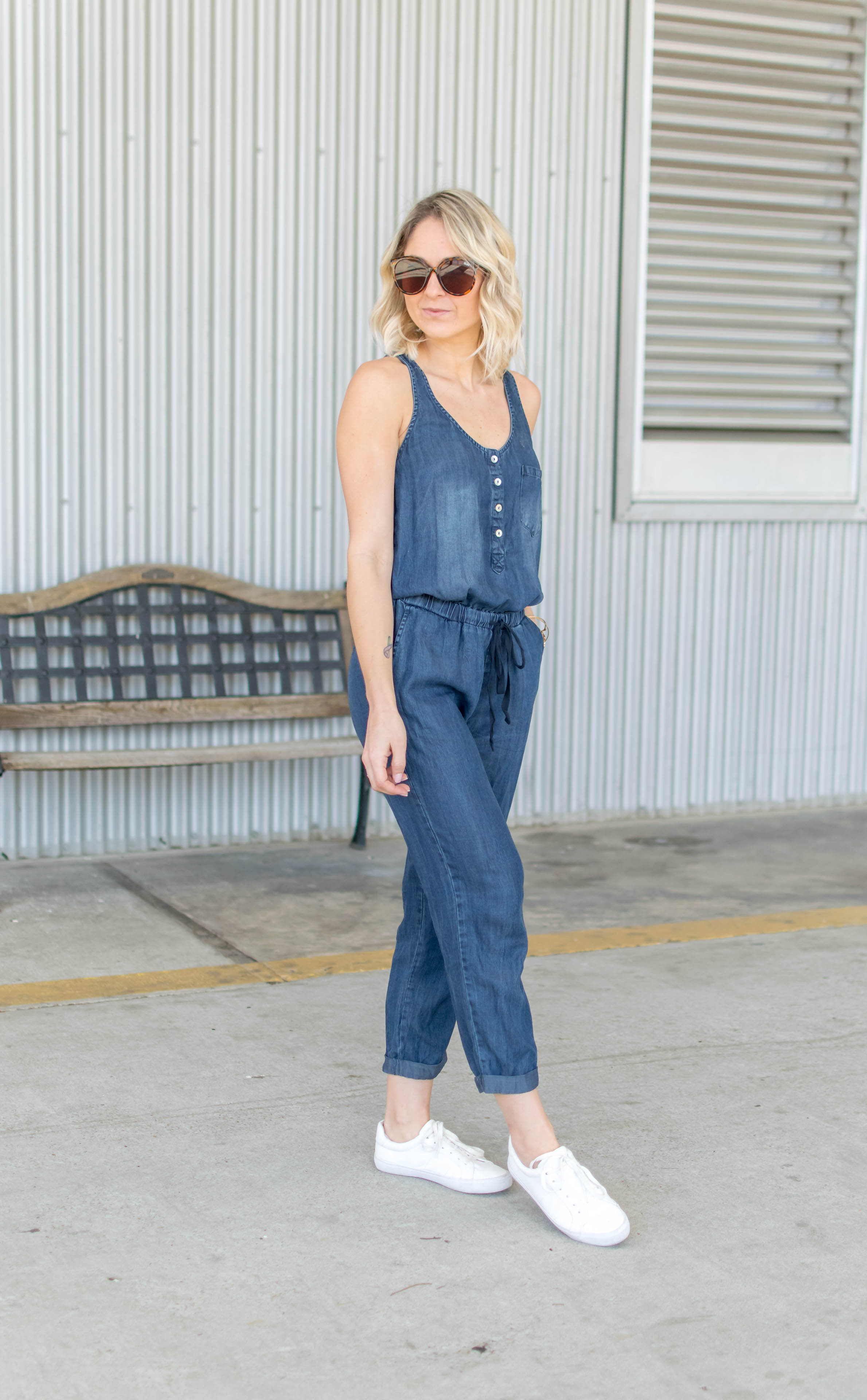 Midnight Wash Jumpsuit - Dawn and Rae Boutique