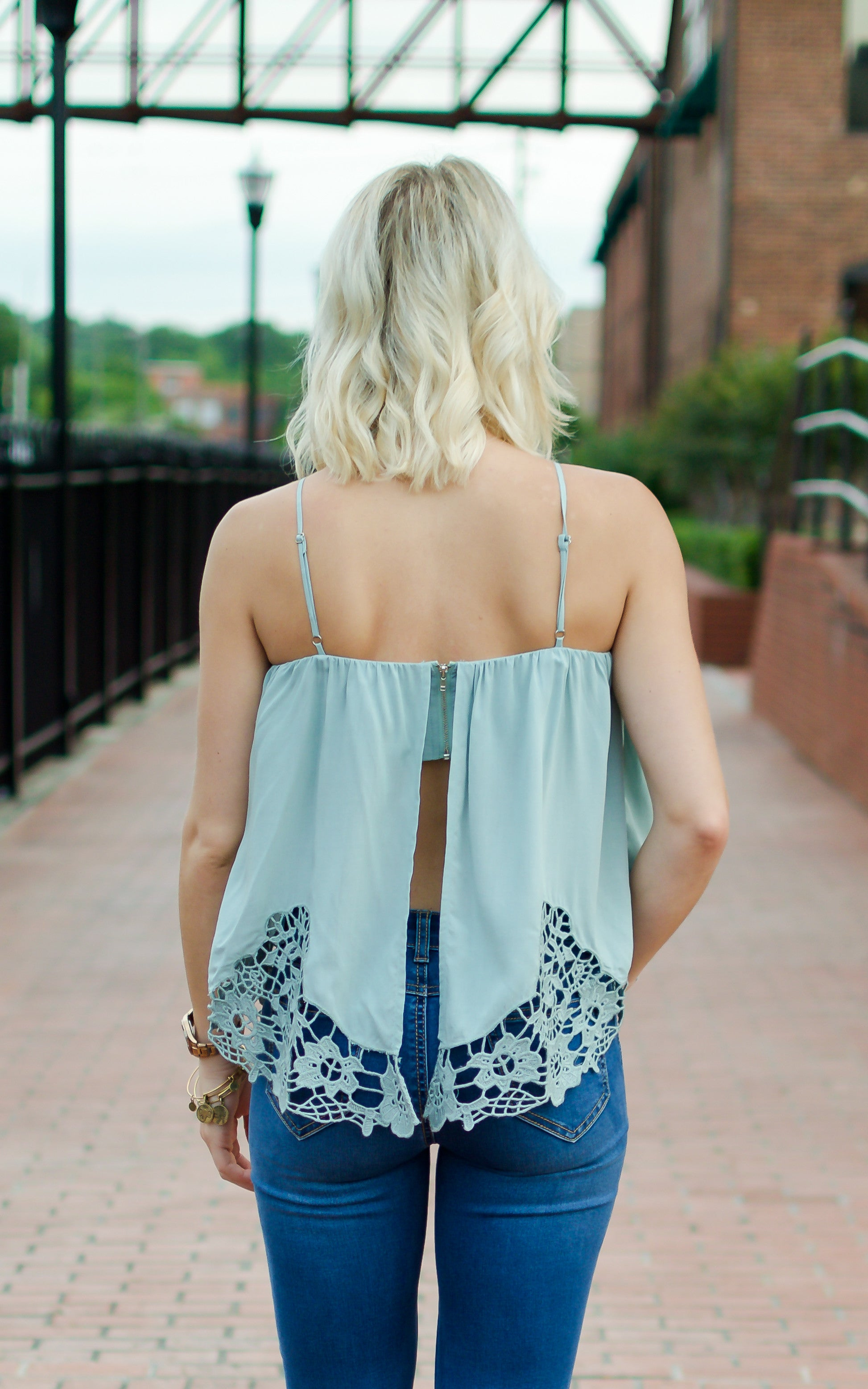Hopelessly Devoted Embroidered Top - Dawn and Rae Boutique