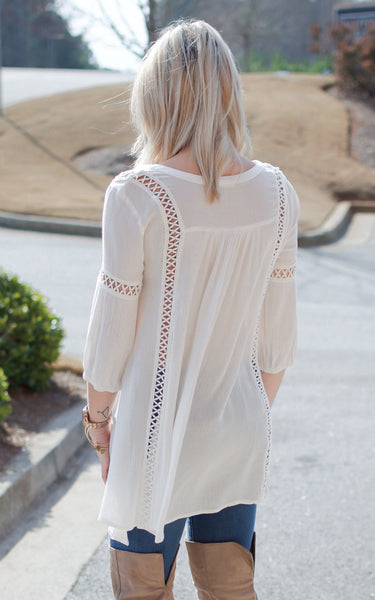 Field of Petals Top - Endless Knot Boutique