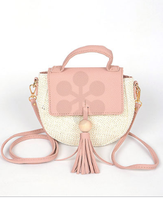 Blush Woven Crossbody - Dawn and Rae Boutique