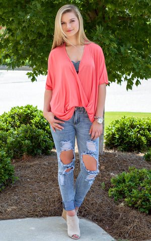 Denim Ripped Skinny Jeans - Endless Knot Boutique