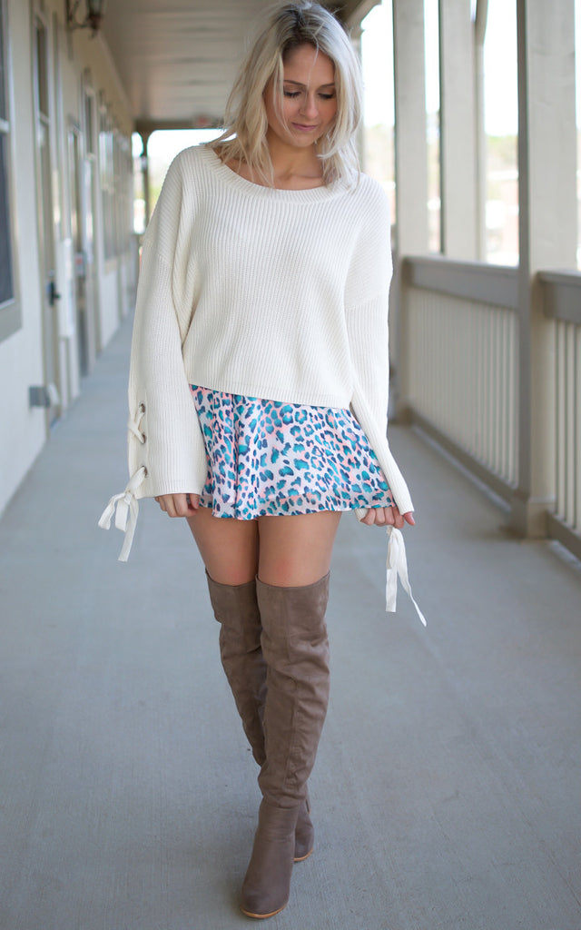 In The Cabana Printed Shorts - Endless Knot Boutique