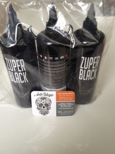 Intenze Zuper Black 12oz