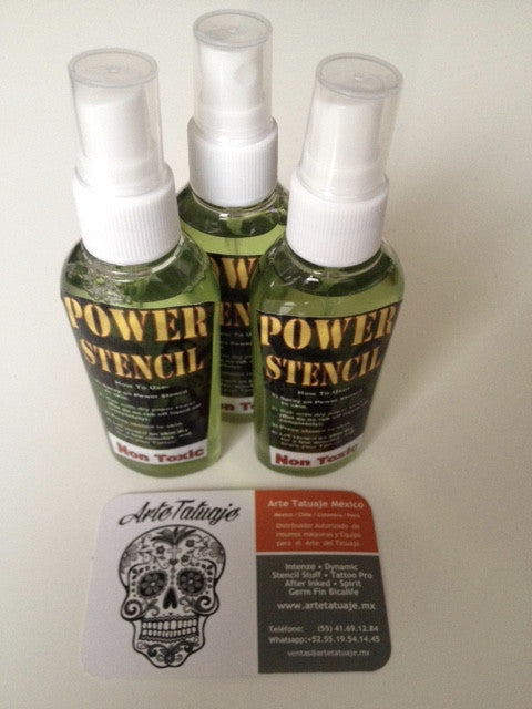 Power Stencil transfer 2oz