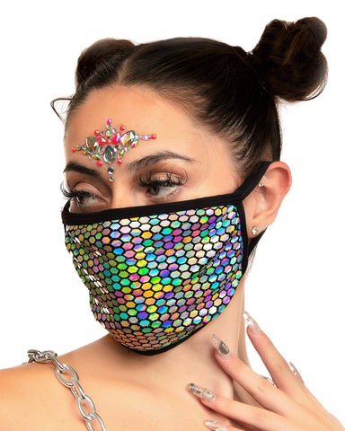 Galactic Prism Surgical Face Mask
