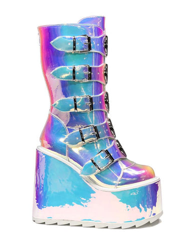 YRU Dune Alien Atlantis Platform Shoes
