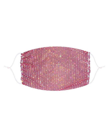 Neva Nude Stupid Love Mesh Jewel Face Mask