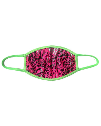 Toxic Kitty Pink UV Face Mask