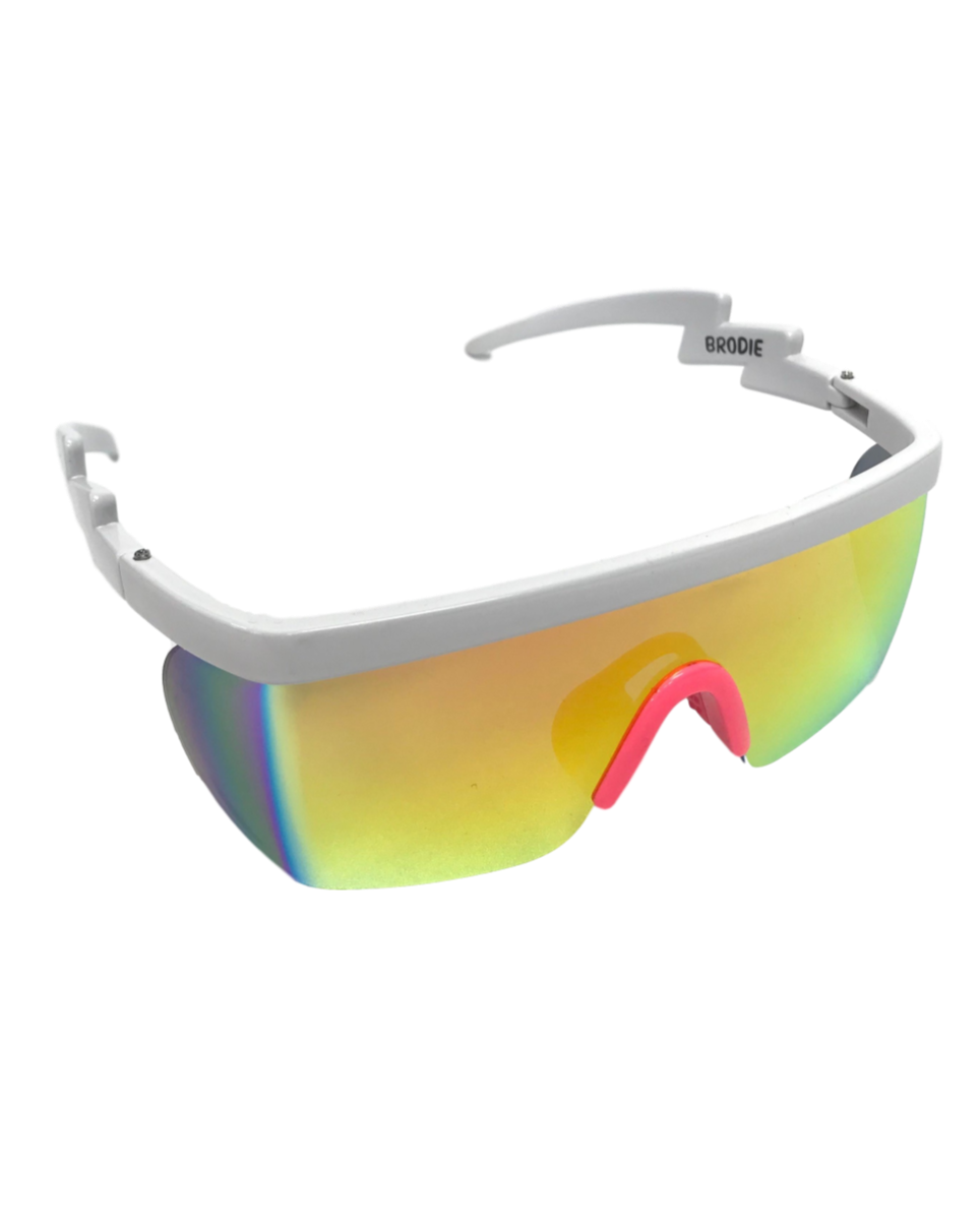 Teknocolor Electric-Shaped Sunglasses (Available In 6 Colors)